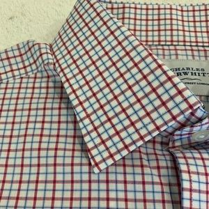 Men's French Cuff dress shirt by Charles Tyrwhitt